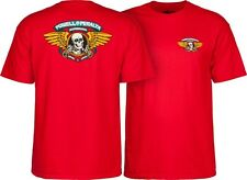 Powell Peralta Skateboards Old School Winged Ripper Classic Reissue T-Shirt Red