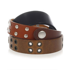 MARTIN MARGIELA MM11 Men Brown Leather Bracelet Made in Italy New with Tag