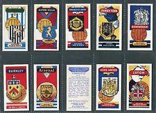 """AMALGAMATED TOBACCO MILLS 1961 """"FOOTBALL CLUBS"""" CIGARETTE CARDS - PICK YOUR CARD"""