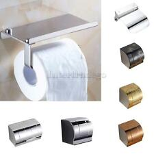 Assorted Stainless Steel Bathroom Roll Toilet Paper Holder Tissue Dispenser Box