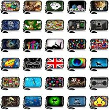 Stylish Soft Digital Camera Sleeve Bag Mobile Phone Case Pouch Protector w/Strap