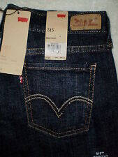 Levis 515 Mid Rise Boot Cut Womens Stretch Denim Blue Jeans Many Sizes New $54