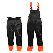 Chainsaw Safety Forestry Trousers Or Bib & Brace Ideal For Dolmar Users