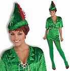 Womens Sexy Peter Pan Fairy Costume
