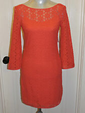 NWT LILLY PULITZER TOPANGA DRESS ISLAND CORAL BREAKERS LACE XS,S,M,L,XL