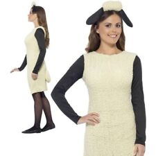 Shaun The Sheep Ladies Licensed Fancy Dress Costume 8-14