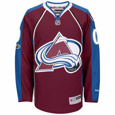 Reebok Colorado Avalanche Maroon Home Centennial Patch Premier Jersey