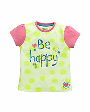 Ladybird Toddler Girls Be Happy Essential T-Shirt