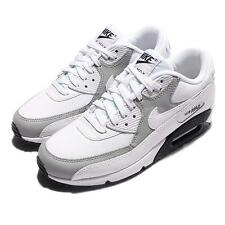 Wmns Nike Air Max 90 White Wolf Grey Women Running Shoes Sneakers 325213-126