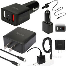 Qualcomm Certified Tronsmart Quick Charge 2.0 Car Charger Wall Charger + Cable