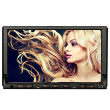 "7"" In-Dash Double 2 Din Car Sat Navi Stereo DVD Player GPS Navigation Bluetooth"