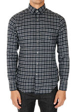 TOM FORD New Men checked Cotton Button-down casual shirt NWT