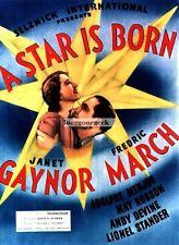 A Star Is Born 1937 movie Janet Gaynor Fred March NEW GICLEE ART PRINT POSTER