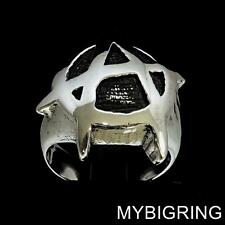 STERLING SILVER MENS RING ANARCHY IN THE UK PUNK SEX PISTOLS REBEL ANY SIZE