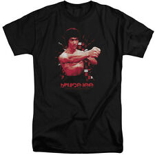 Bruce Lee The Shattering Fist Mens Big and Tall Shirt