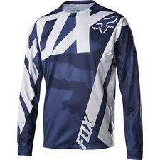 Fox Mtb Demo Ls Mens Jersey Bike - Creo Blue Camo All Sizes