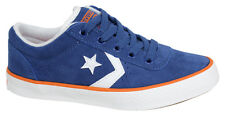 Converse All Star Unisex Blue Orange Lace Up Trainers 136742C D8