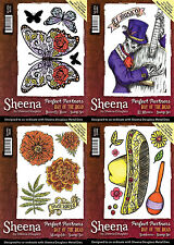 Sheena Douglass - PERFECT PARTNERS - DAY OF THE DEAD COLLECTION - Stamps 2017
