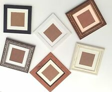 Photo Picture Frame with Perspex and Mounts Wood Effect