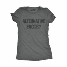 Womens Alternative Facts Funny Politics United States of America T shirt