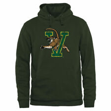Vermont Catamounts Green Classic Primary Pullover Hoodie - College