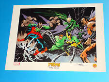 Spider-Man Lithograph Signed by Jae Lee Marvel Comics Limited Edition Sinister 6