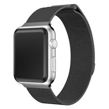 Strong Magnetic Mesh Milanese Loop Stainless Steel Strap Band fOr Apple Watch1 2