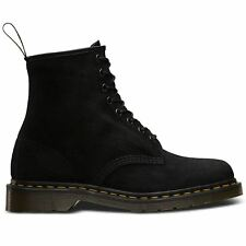 Dr.Martens 1460 8 Eyelet Soft Buck Black Womens Boots