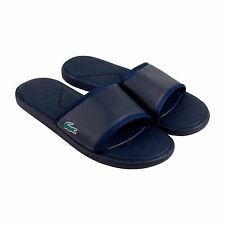 Lacoste L.30 Slide Sport Spm Mens Blue Synthetic Slip On Sandals Shoes