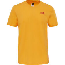 North Face Red Box Mens T-shirt - Zinnia Orange All Sizes