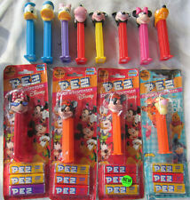 Lot of 12 DISNEY PEZ Dispensers 10 Different MICKEY Donald PLUTO Goofy MINNIE