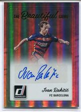 2016-17 PANINI DONRUSS SOCCER IVAN RAKITIC THE BEAUTIFUL GAME AUTO