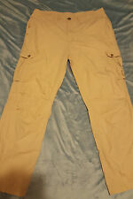 SCHOTT NYC Man's Lightweight Combat Trousers Size: W 36 L 31 VERY GOOD Condition