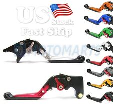 Fold Extendable Brake Clutch Levers for Yamaha YZF R6 99 00 01 02 03 04 R1 02 03