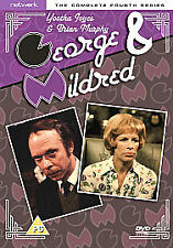 GEORGE & MILDRED THE COMPLETE FOURTH SERIES DVD 4TH SEASON
