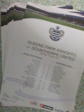 QPR 2010-2011 PRESS/TEAMSHEETS: CHAMPIONSHIP: CHOOSE FROM THE DROP DOWN LIST !!!