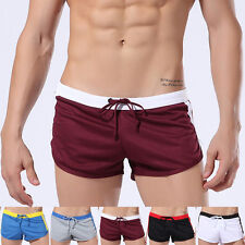 Mens Athletic Shorts Running Casual Jogging GYM Trunks Short Pants Sports Boxers