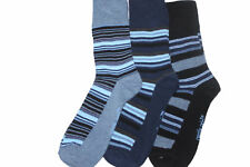 3 prs stripey SockShop mens socks