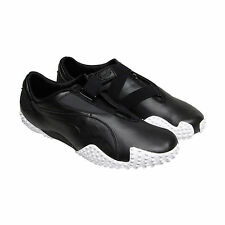 Puma Mostro Og Ii Mens Black Leather Strap Slip On Sneakers Shoes