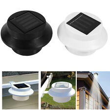 LED Solar Powered Light Outdoor Garden Yard Wall Fence Pathway Corridor Lamp DY