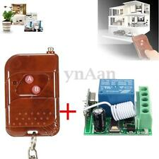 DC 12V 10A 1Channel Wireless Relay RF Remote Control Switch Receiver Transmitter