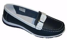 Ladies Coolers  Summer Fruits Leather Comfort Loafer  Shoes Sizes 4-8