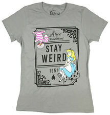 Disney Juniors Alice Stay Weird Graphic Tee