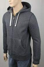 Tommy Hilfiger Grey Hoodie Full Zip Sweatshirt NWT