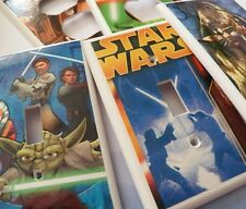 STAR WARS - Switchplate Covers - Light Switch Cover Electrical Outlet - NEW
