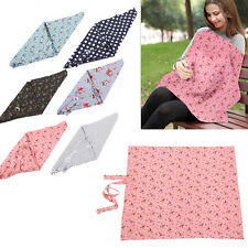 Baby Mum Breastfeeding Shawl Nursing Cover Up Udder Cover Cotton Blanket Towl DY