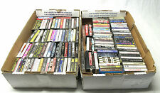 Lot of 139 Cassette Tapes Vintage Music Variety Genres