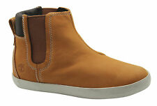 Timberland Glastenbury Chelsea Womens Boots Ankle Shoes Wheat Leather A138R D10
