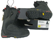 NEW! $370 Burton Driver X Mens Snowboard Boots!  Black  *Size 7 or 7.5*