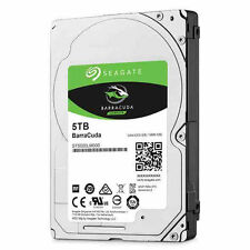 "Seagate Barracuda ST5000LM000 5 TB 2.5"" Internal Hard Drive 15mm 5TB HDD"